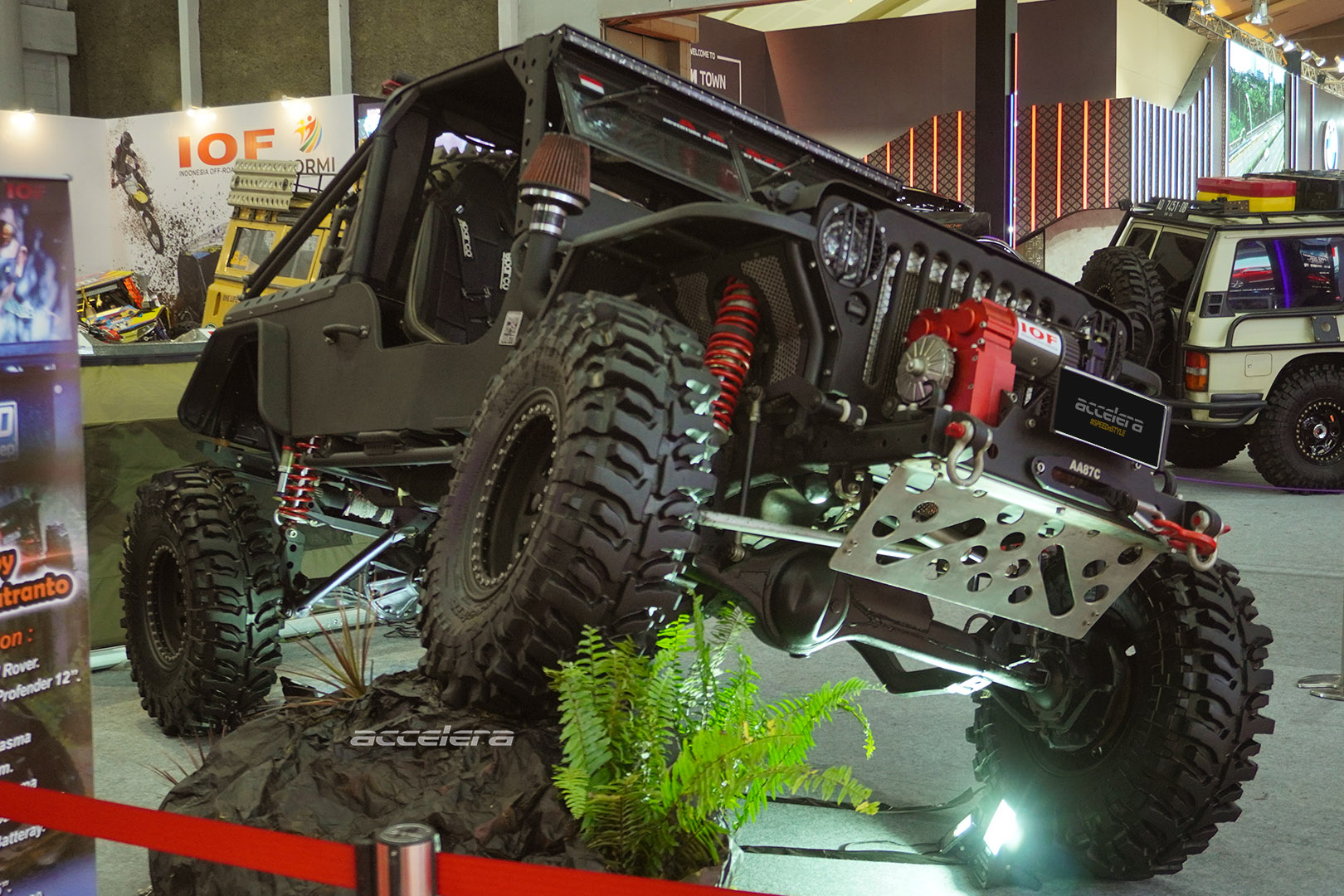Suspension Articulation Helps You To Find Grip