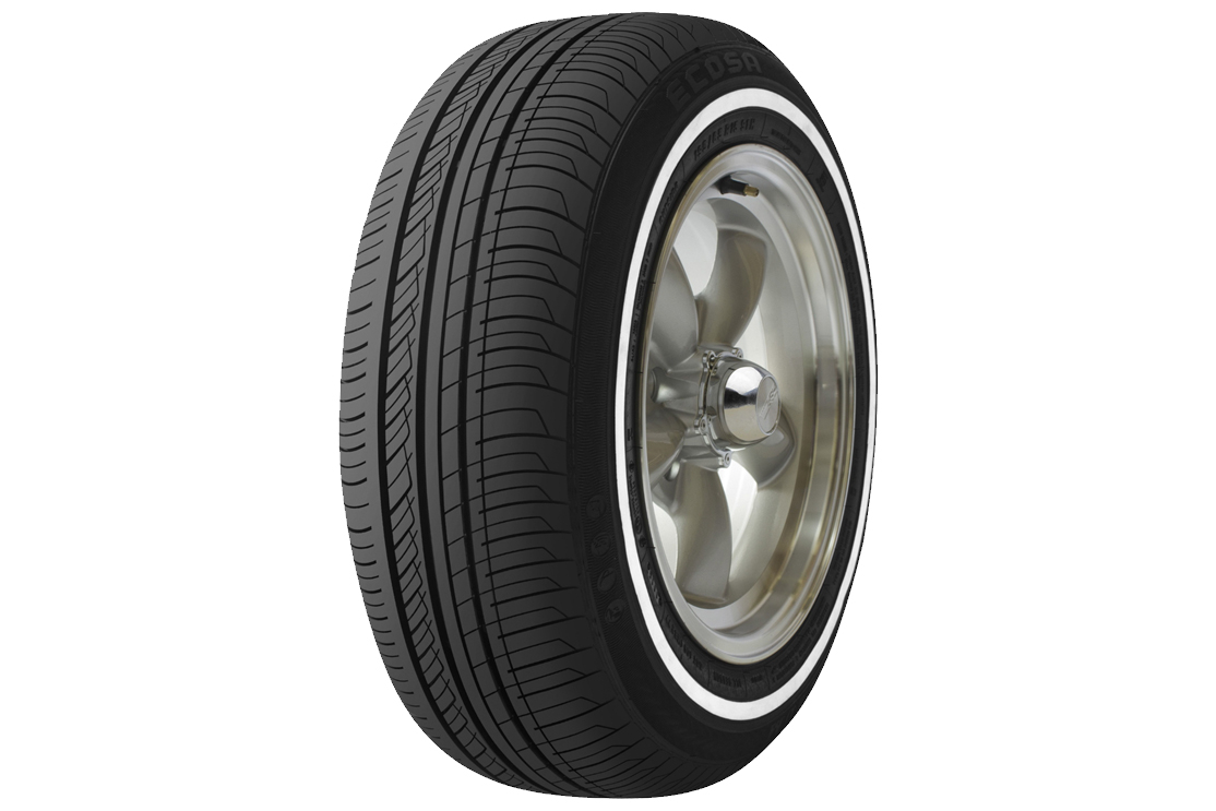 Ecosa White Line Sidewall, The Classic Style Tire
