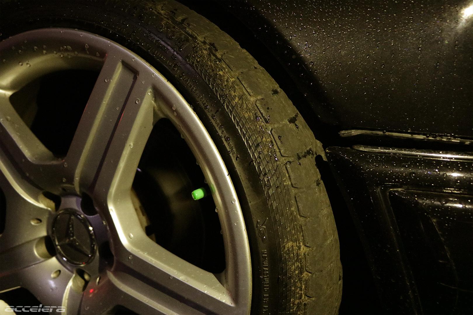 The Danger of Weared Tyres