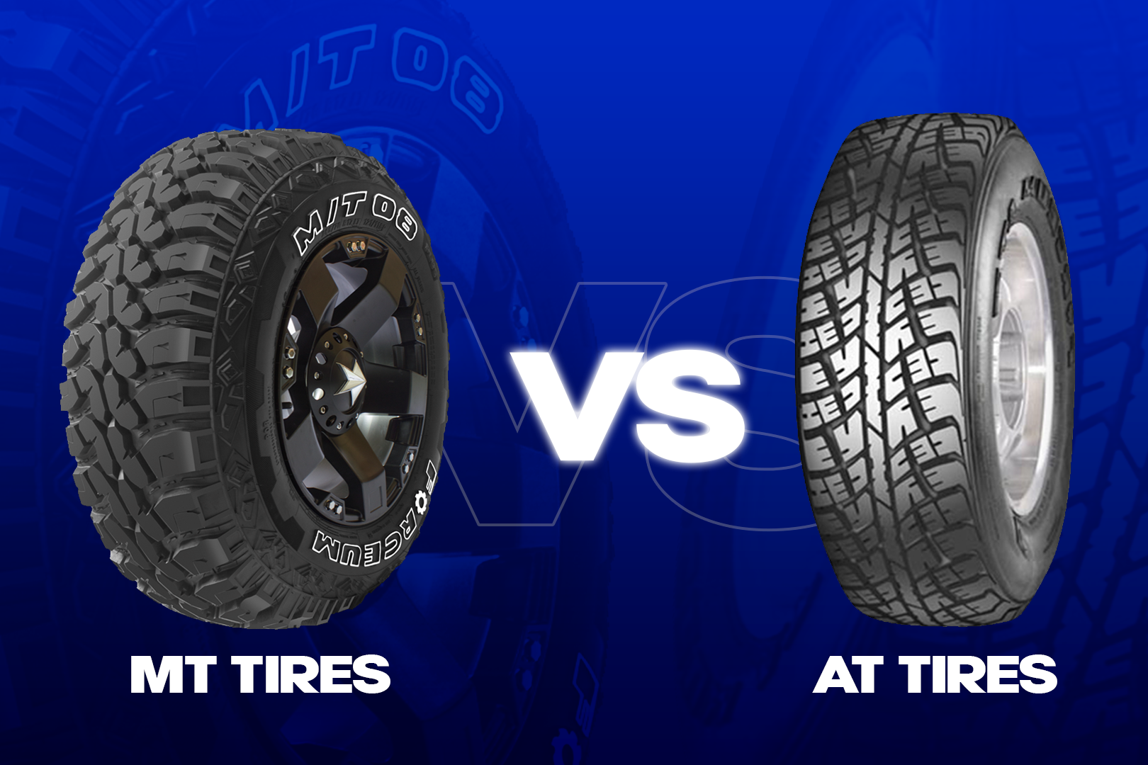 What Is The Difference Between AT and MT Tyres?