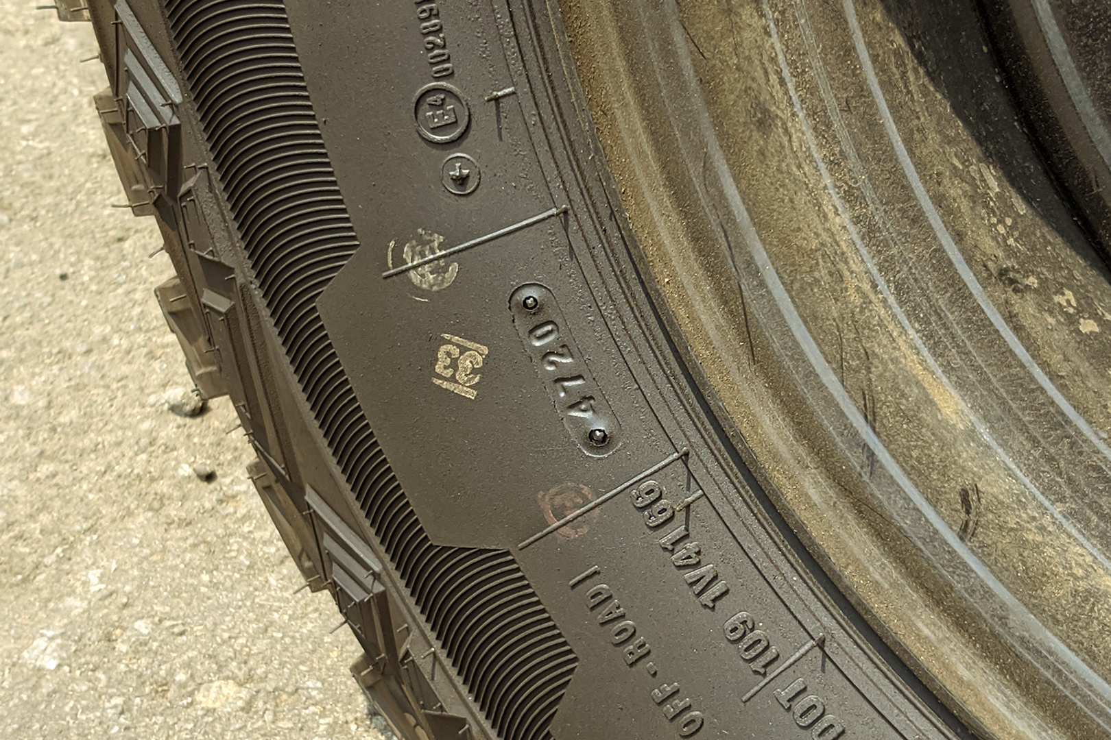 Easy Way To Determine The Age Of Your Tyre